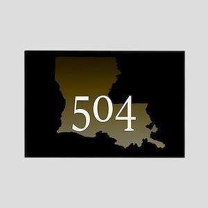 NOLA 504 Louisiana Magnets
