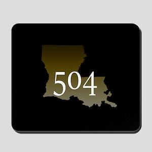 NOLA 504 Louisiana Mousepad