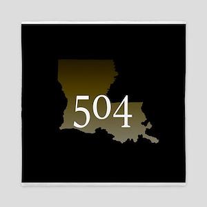 NOLA 504 Louisiana Queen Duvet