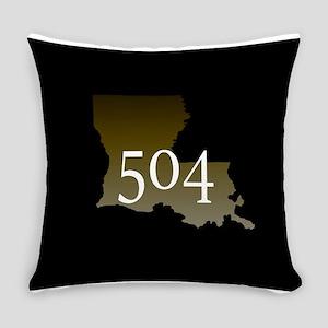 NOLA 504 Louisiana Everyday Pillow
