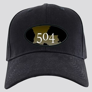 NOLA 504 Louisiana Black Cap