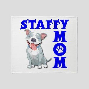 STAFFY MOM Throw Blanket