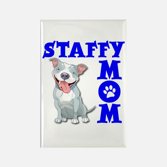 STAFFY MOM Rectangle Magnet