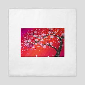 Vibrant Blossom Queen Duvet