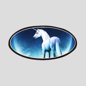 White Unicorn Patch