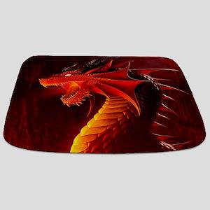 Fire Dragon Bathmat