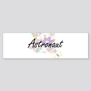 Astronaut Artistic Job Design with Bumper Sticker