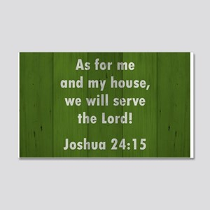 JOSHUA 24:15 Wall Decal