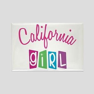 CALIFORNIA GIRL! Rectangle Magnet (10 pack)