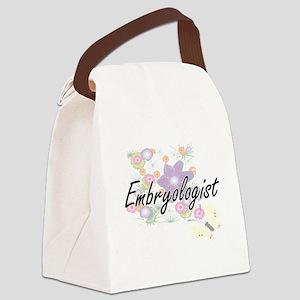Embryologist Artistic Job Design Canvas Lunch Bag