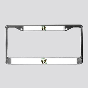 Sasquatch Or Big Foot License Plate Frame