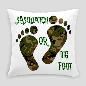 Sasquatch Or Big Foot Everyday Pillow