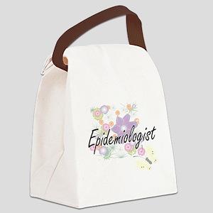 Epidemiologist Artistic Job Desig Canvas Lunch Bag