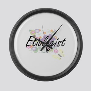 Etiologist Artistic Job Design wi Large Wall Clock