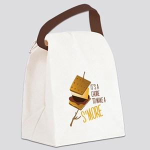 Make A Smore Canvas Lunch Bag