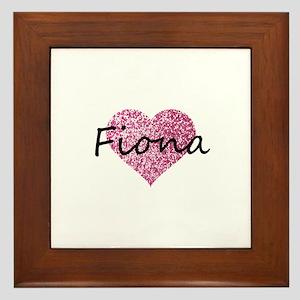 Fiona Framed Tile