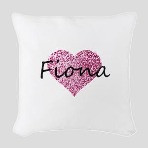 Fiona Woven Throw Pillow