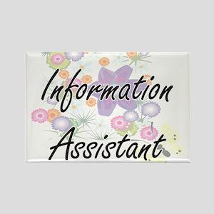 Information Assistant Artistic Job Design Magnets