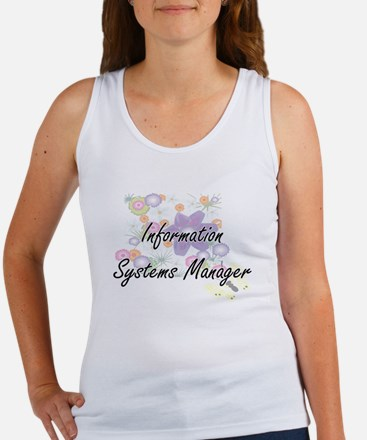 Information Systems Manager Artistic Job Tank Top