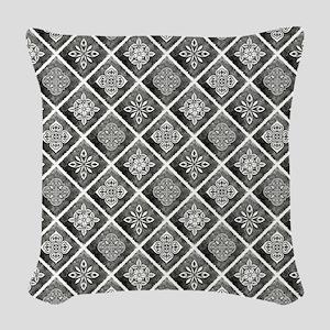 BOHEMIAN TILE Woven Throw Pillow