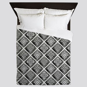 BOHEMIAN TILE Queen Duvet