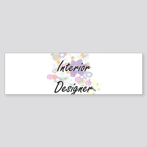 Interior Designer Artistic Job Desi Bumper Sticker