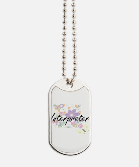 Interpreter Artistic Job Design with Flow Dog Tags