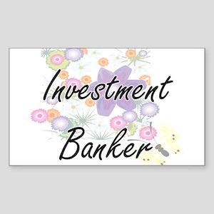 Investment Banker Artistic Job Design with Sticker