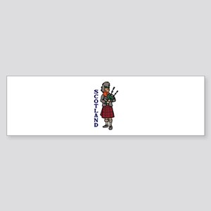 Scotland Bagpipes Bumper Sticker
