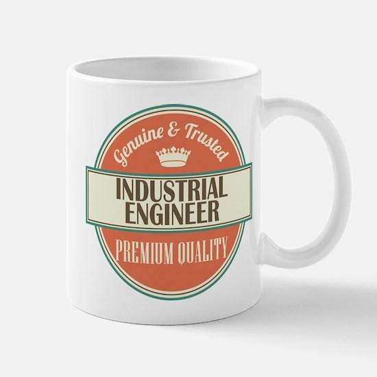 industrial engineer vintage logo Mug