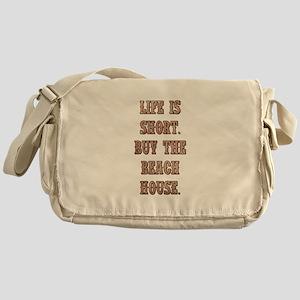LIFE IS SHORT Messenger Bag