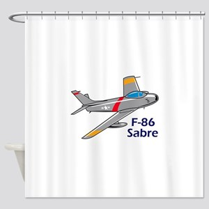 Sabre Jet Shower Curtain