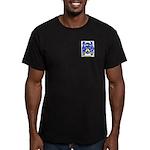 Muzzillo Men's Fitted T-Shirt (dark)