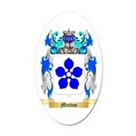 Mutton Oval Car Magnet