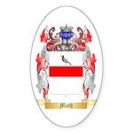 Muth Sticker (Oval 50 pk)