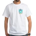 Mustarder White T-Shirt