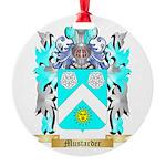 Mustarder Round Ornament