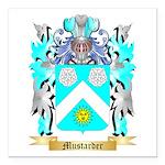 Mustarder Square Car Magnet 3