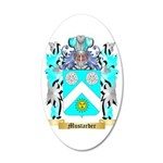 Mustarder 35x21 Oval Wall Decal