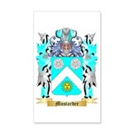 Mustarder 35x21 Wall Decal