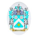 Mustarder Oval Ornament