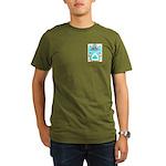 Mustard Organic Men's T-Shirt (dark)