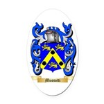 Mussotti Oval Car Magnet