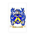 Mussolini Sticker (Rectangle)