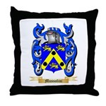 Mussolini Throw Pillow