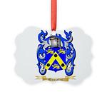 Mussolini Picture Ornament