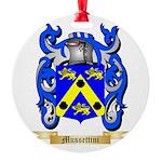 Mussettini Round Ornament
