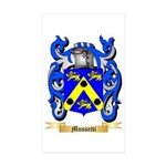Mussetti Sticker (Rectangle 10 pk)