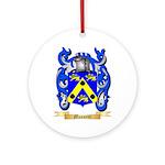 Mussetti Round Ornament