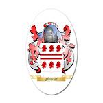 Mushet 35x21 Oval Wall Decal